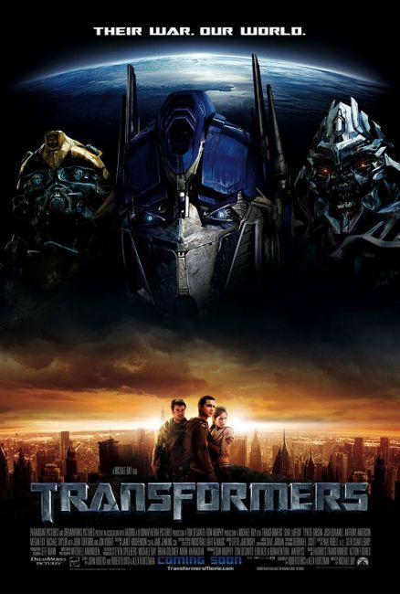 Transformers (film) - Wikipedia bahasa Indonesia, ensiklopedia bebas