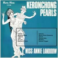 Kroncong Pearls, album milik Annie Landouw dibawah label raksasa, Columbia Records (dok/wahrweb)