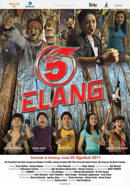 risky agus salim movies - 5 Elang