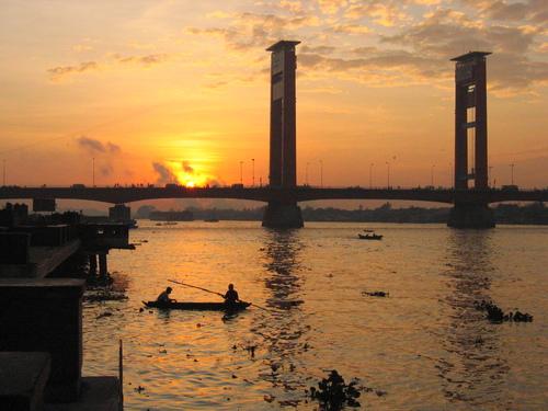 Sumatera Selatan, Sungai Musi,