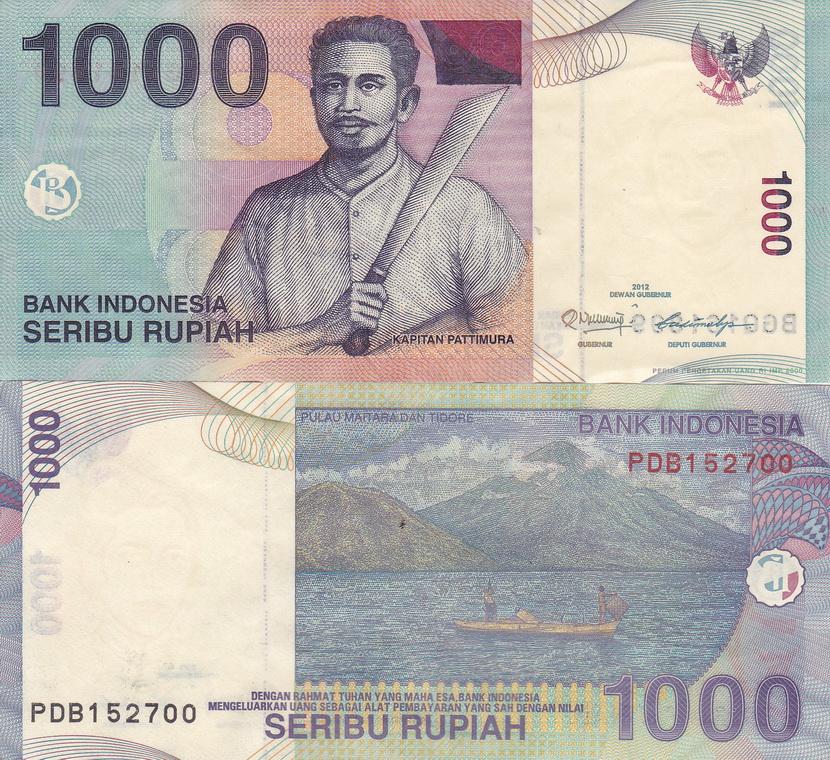Blauw Is De Kleur Van Indonesie