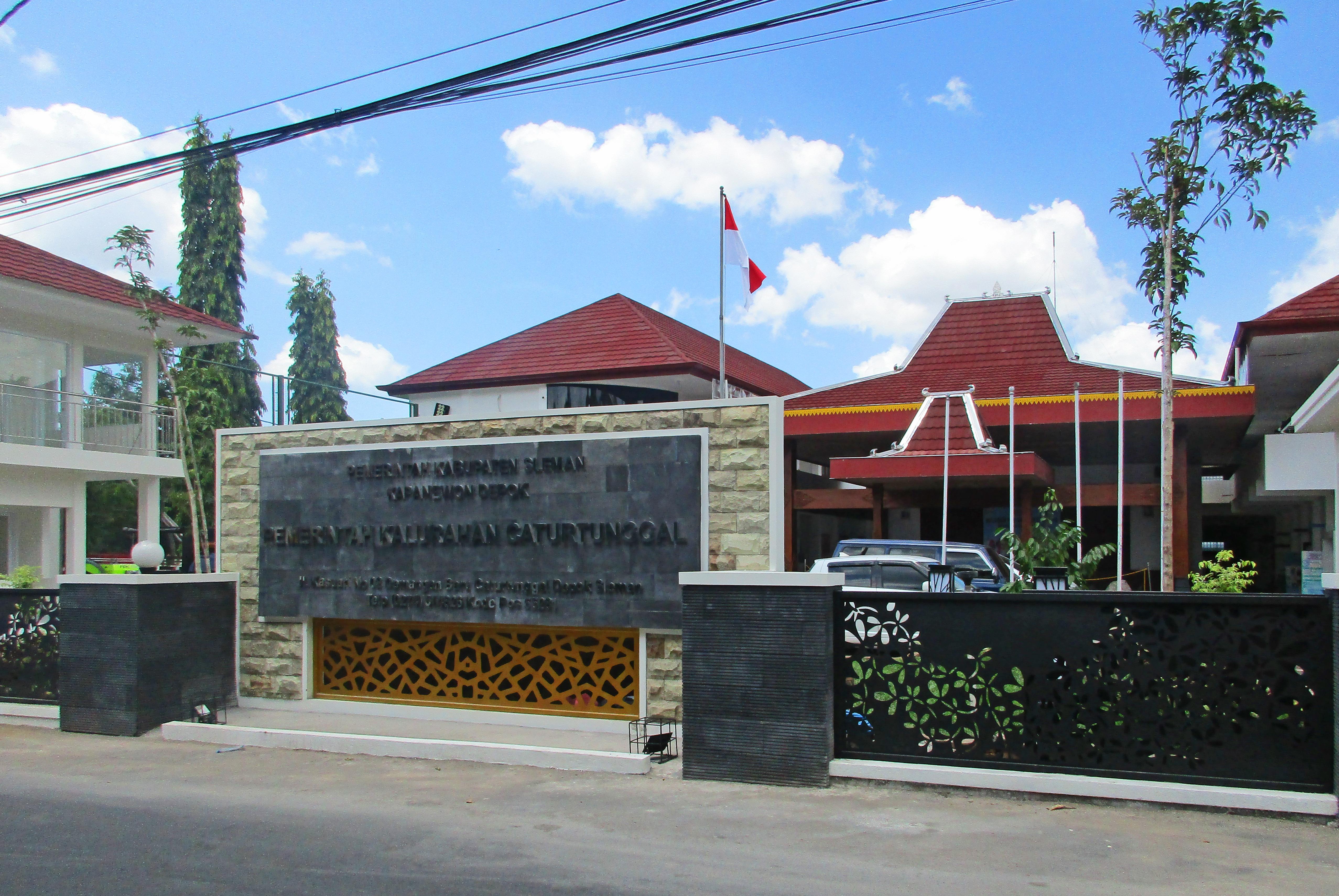 Caturtunggal Depok Sleman Wikipedia Bahasa Indonesia Ensiklopedia Bebas