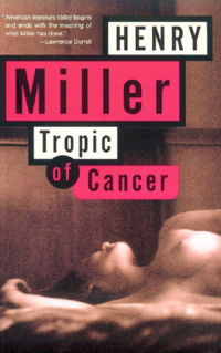 The cover of a recent edition of Tropic of Cancer.