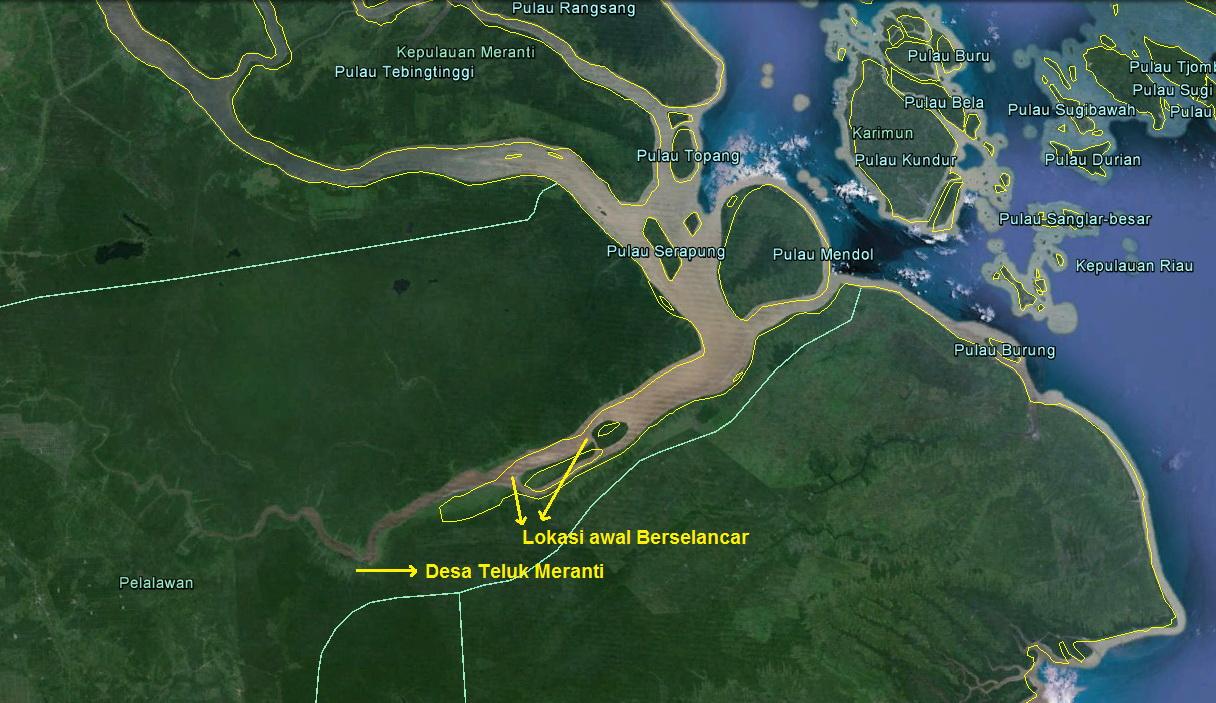 Berkas:Peta lokasi ombak bono sungai kampar desa teluk ...