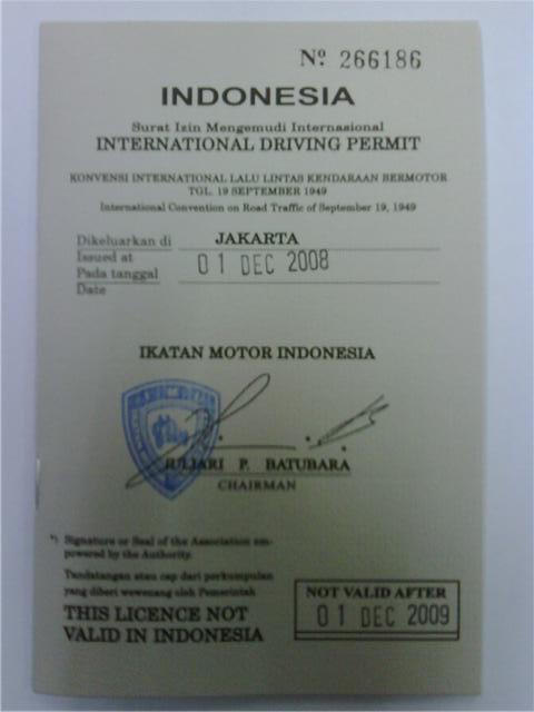 Surat Izin Mengemudi Internasional Wikipedia Bahasa Indonesia Ensiklopedia Bebas