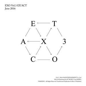 Hasil gambar untuk exo exact album cover