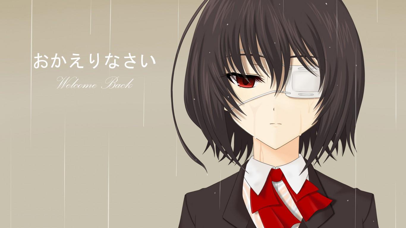 Berkasanother anime hair series misaki mei black