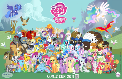 Daftar Karakter My Little Pony Friendship Is Magic Wikipedia Bahasa Indonesia Ensiklopedia Bebas