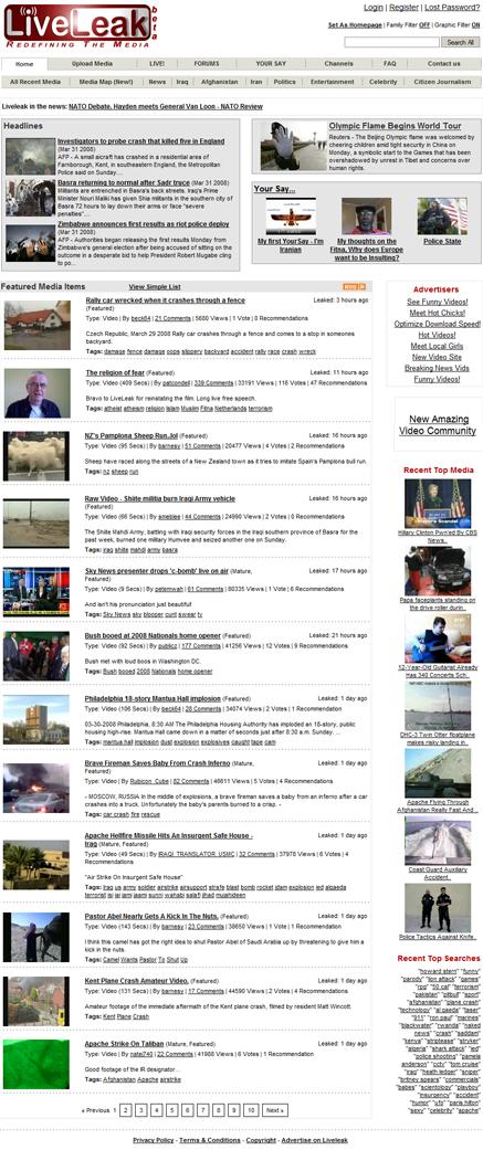 Liveleak - Wikipedia bahasa Indonesia, ensiklopedia bebas