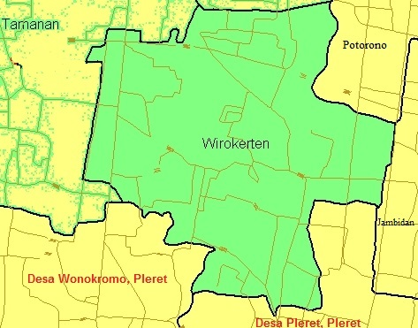 Wirokerten, Banguntapan, Bantul - Wikipedia bahasa ...