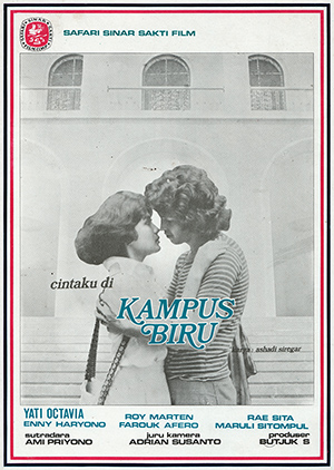 Image result for film cintaku di kampus biru