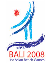 Bali Asian Beach Games 2008 Logo