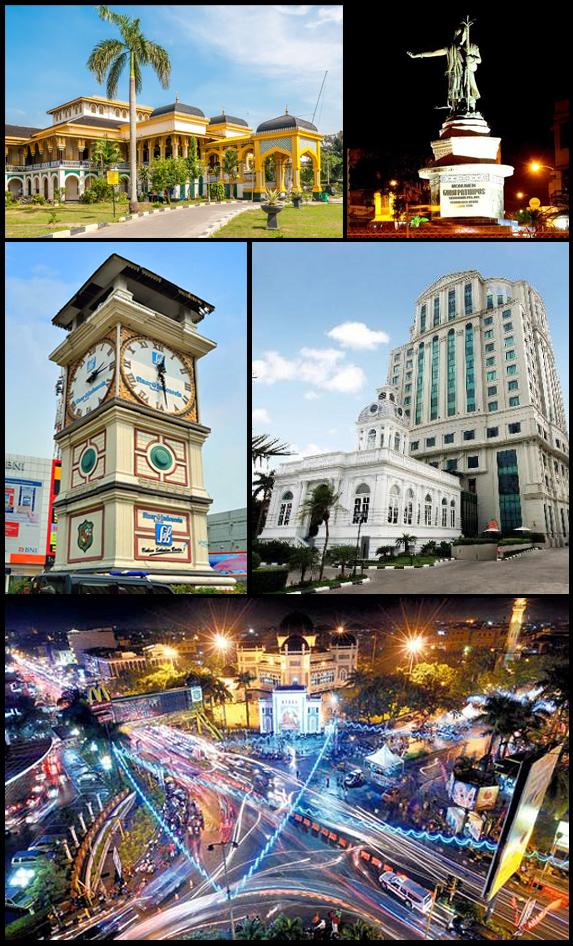 Kota Medan Wikipedia Bahasa Indonesia Ensiklopedia Bebas