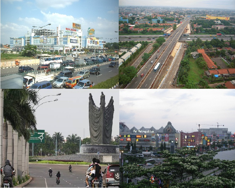 west java province cities amp towns skyline streetscape
