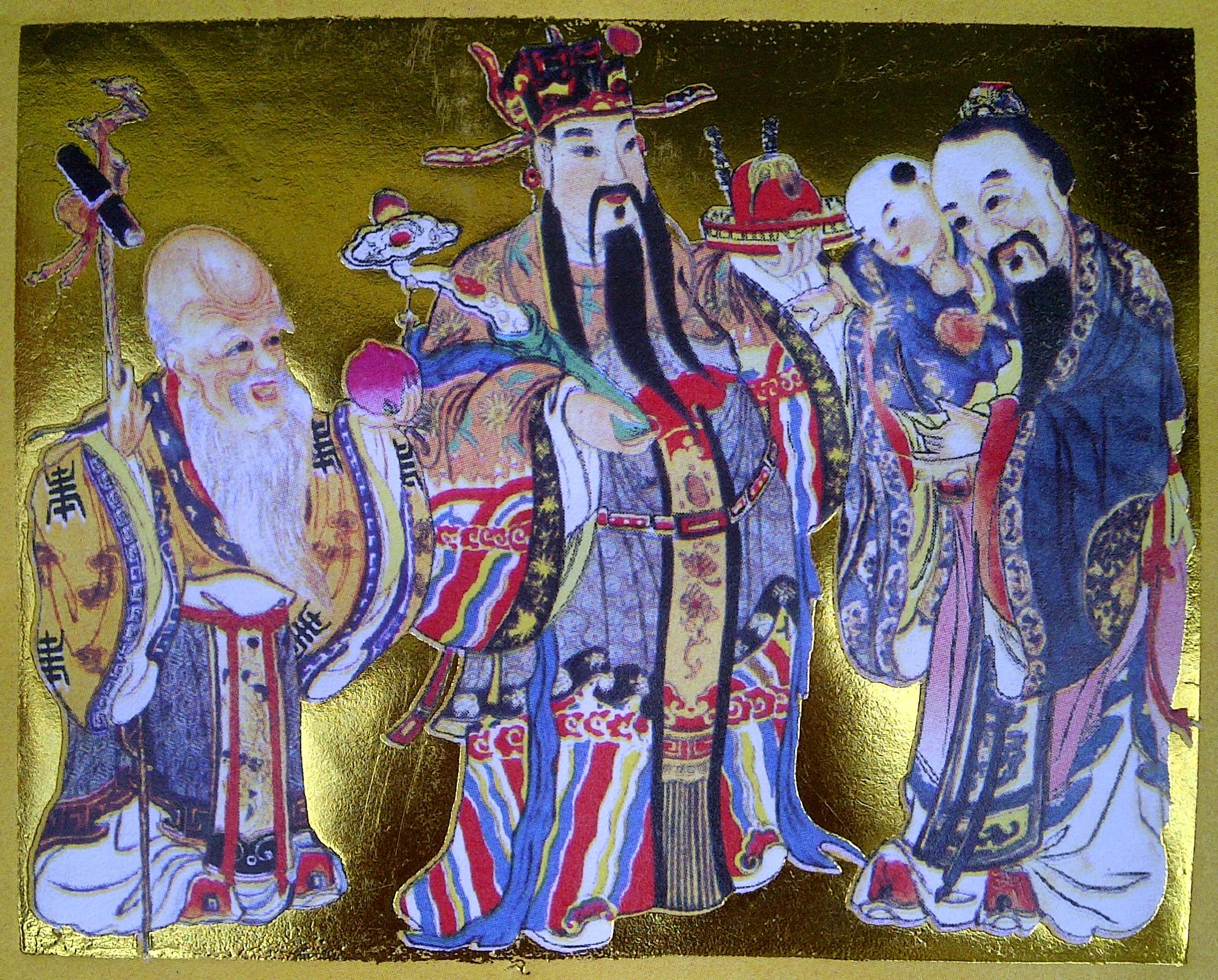 Fu Lu Shou Bahasa Indonesia Ensiklopedia Bebas