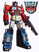 Optimus Prime sang pemimpin Autobots.