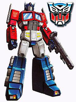 Optimus Prime Sang Pemimpin Autobots