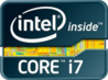 Intel Inside Core i7 Extreme Edition with horizontal variation