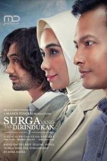 Surga yang Tak Dirindukan 3 2021 Indonesia Pritagita Arianegara Marsha Timothy Fedi Nuril Reza Rahadian  Drama, Romance
