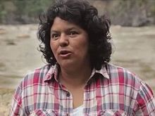 Berta Cáceres interview 2015.jpg