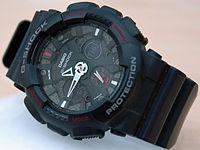 Sebuah arloji G-Shock Extra Large serie GA-120-1ADR 8be967200f
