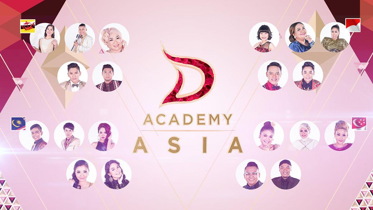 D'Academy Asia (musim pertama) - Wikipedia bahasa Indonesia