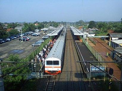 Cara untuk pergi ke Stasiun Rawa Buntu menggunakan Transportasi Umum - Tentang tempat tersebut