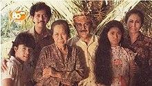 Para Pemeran Sinetron Rumah Masa Depan Dari Kiri Ke Kanan Bayu Septian Dwi Cahyo Pak Sukri Deddy Sutomo Nenek Wolly Sutinah Kakek A Hamid
