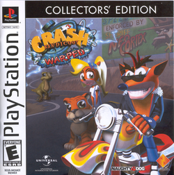 Cover of Crash Bandicoot 3: Warped