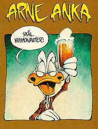 Arne Anka , karakter buatan Charlie Christensen yang dituntut Disney