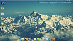 Screenshot of Simplelinux EXT by Syukri Roslee