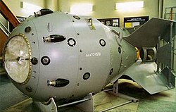Casing for the first Soviet atomic bomb, RDS-1.jpg
