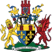Arms of Monmouthshire County Council