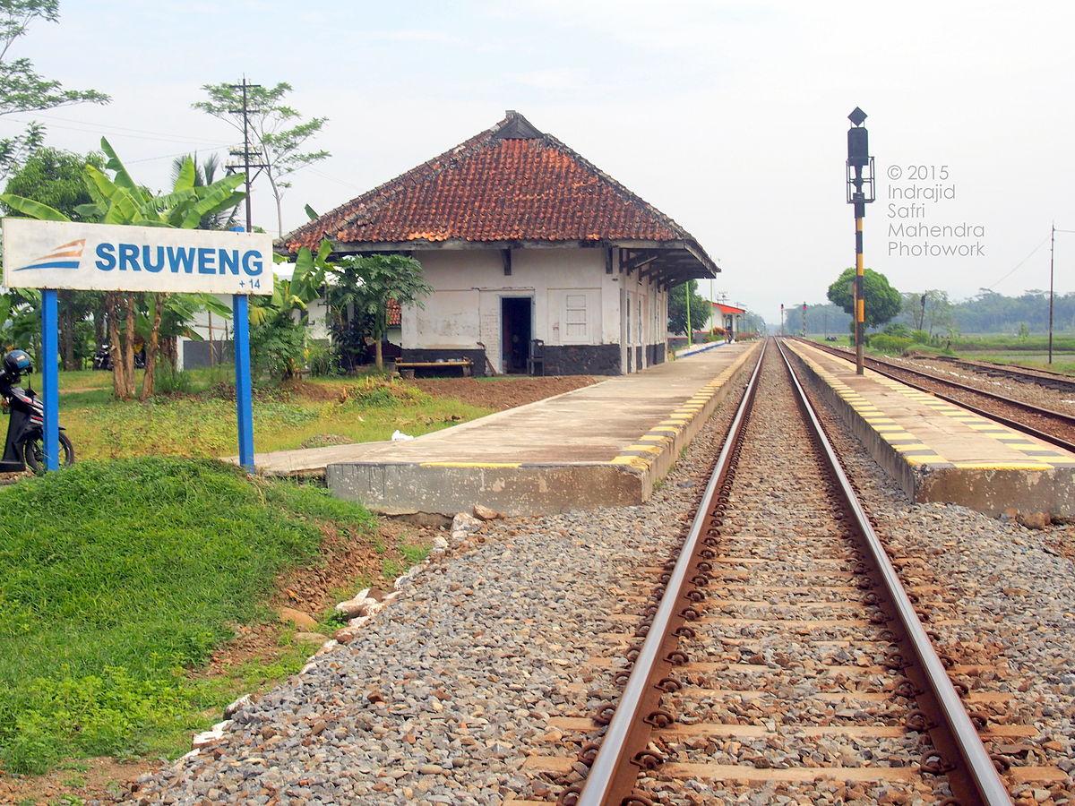 Stasiun Sruweng - Wikipedia bahasa Indonesia, ensiklopedia bebas