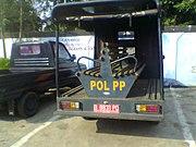 Kendaraan Polisi Pamong Praja