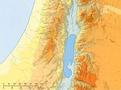 Tanah Kanaan is located in Israel