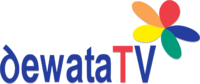 Logo Dewata TV flower color (2007-2011)