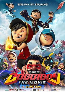 BoBoiBoy: The Movie (2016) DVDRip