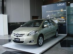 2007 Toyota Vios 1.5 G NCP93 (Indonesia)