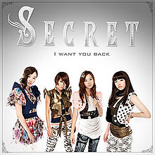 I Want You Back(Secret Kpop group) cover.jpg