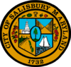 Lambang resmi City of Salisbury