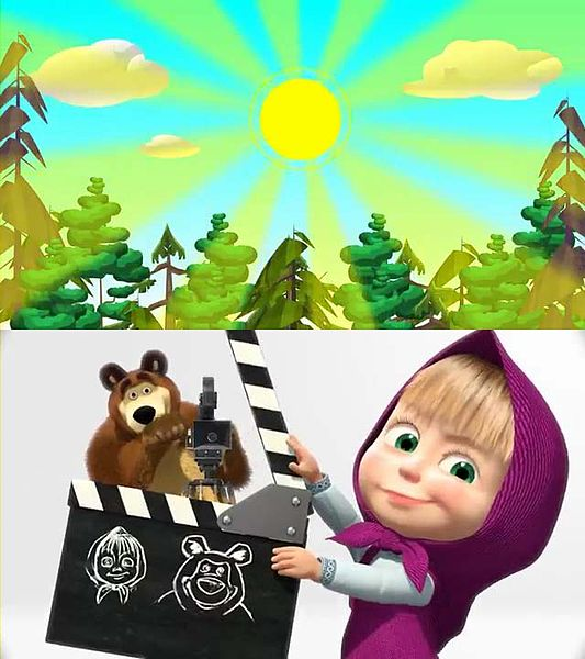 Berkas:Masha and The Bear Intro.jpg