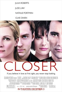 Closer (2004) Movie Review