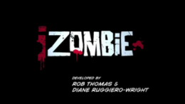 Promotional poster for iZombie which shows the main character Liv