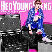 Heo Young-saeng Overjoyed Normal Edition Album Cover.jpg