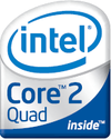Intel Core 2 Quad brand logo