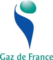 Logo of Gaz de France
