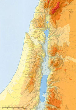 Tanah Israel is located in Israel