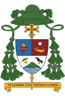 Coat of arms of Benedictus Estephanus Rolly Untu.png