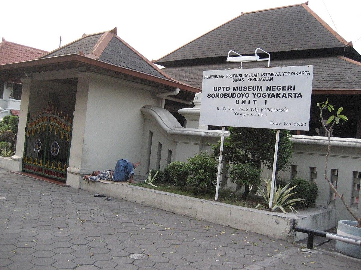 Museum Sonobudoyo Bahasa Indonesia Ensiklopedia